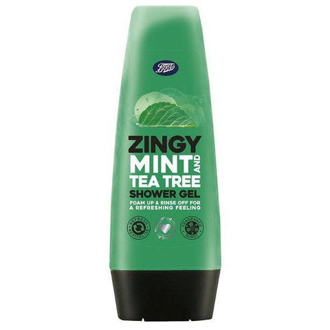 Boots Zingy Mint & Tea Tree Shower Gel 250ml