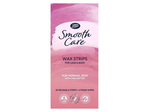 Boots Smooth Care wax strips normal 20s