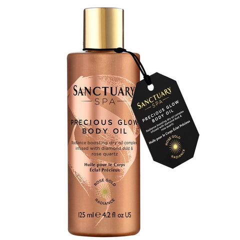The Sanctuary Spa Spa Rose Gold Radiance Body Oil 125ml