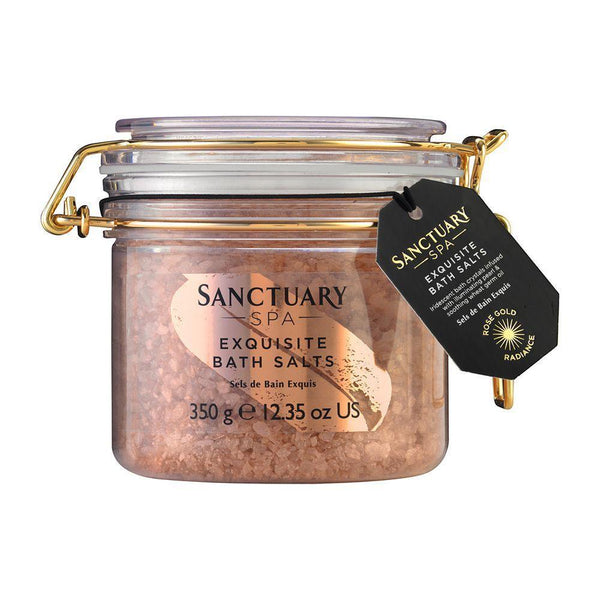 The Sanctuary Spa Spa Rose Gold Radiance Bath Salts 350G
