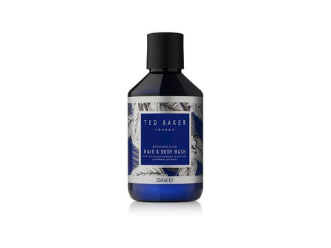 Ted Baker Hair And Body Wash Sterling Blue 250ml