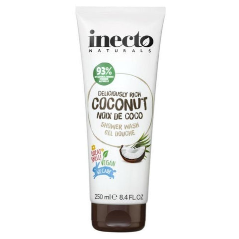 Inecto Deliciously Rich Coconut Shower Wash 250ml