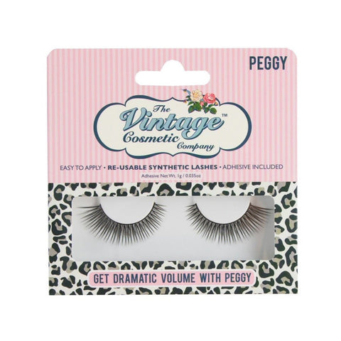 "The Vintage Cosmetics Company - ""Peggy"" False Lashes"