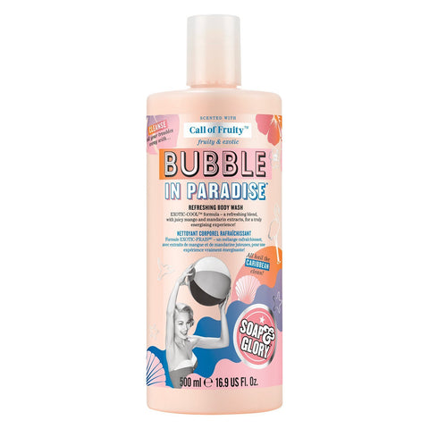 Soap & Glory Call of Fruity Bubbles in Paradise Body Wash 500ml
