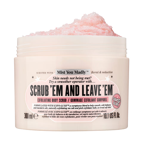 Soap & Glory Scrub 'Em And Leave 'Em Body Buff 300ml