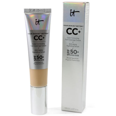 IT Cosmetics 32mL Your Skin But Better CC+ Cream + Anti-Ageing Hydrating Serum