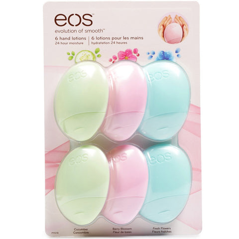 Eos 6 Pack Hand Lotions