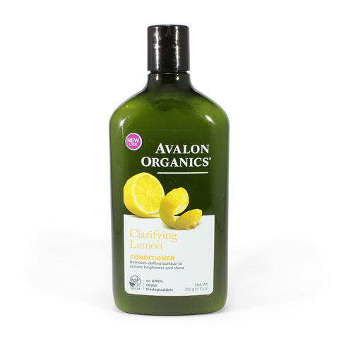 Avalon Organics 312mL Lemon Clarifying Conditioner