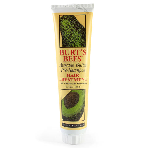Burt's Bees 123g Avocado Butter Pre-Shampoo Hair Treatment