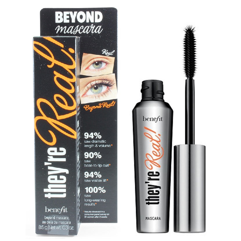 Benefit Cosmetics 8.5g They're Real Beyond Mascara Jet Black