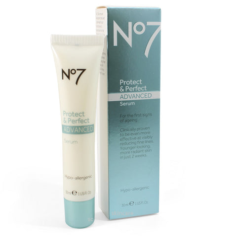 Boots No. 7 30mL Protect & Perfect Advanced Serum Tube