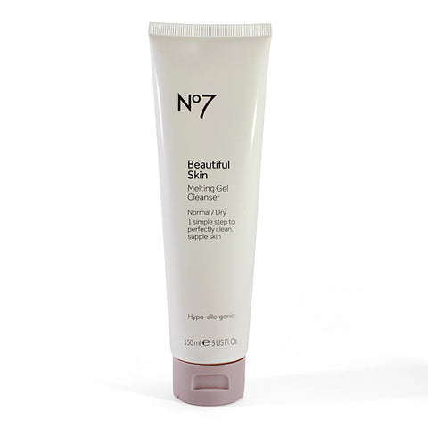 Boots No. 7 150mL Beautiful Skin Melting Gel Cleanser Normal/Dry
