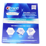 Crest 3D White 4 x 1 Hour Express Teeth Whitening Strip Treatments
