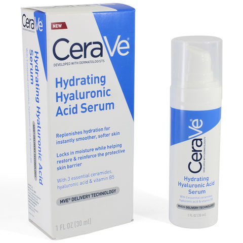 CeraVe 30mL Hydrating Hyaluronic Acid Serum