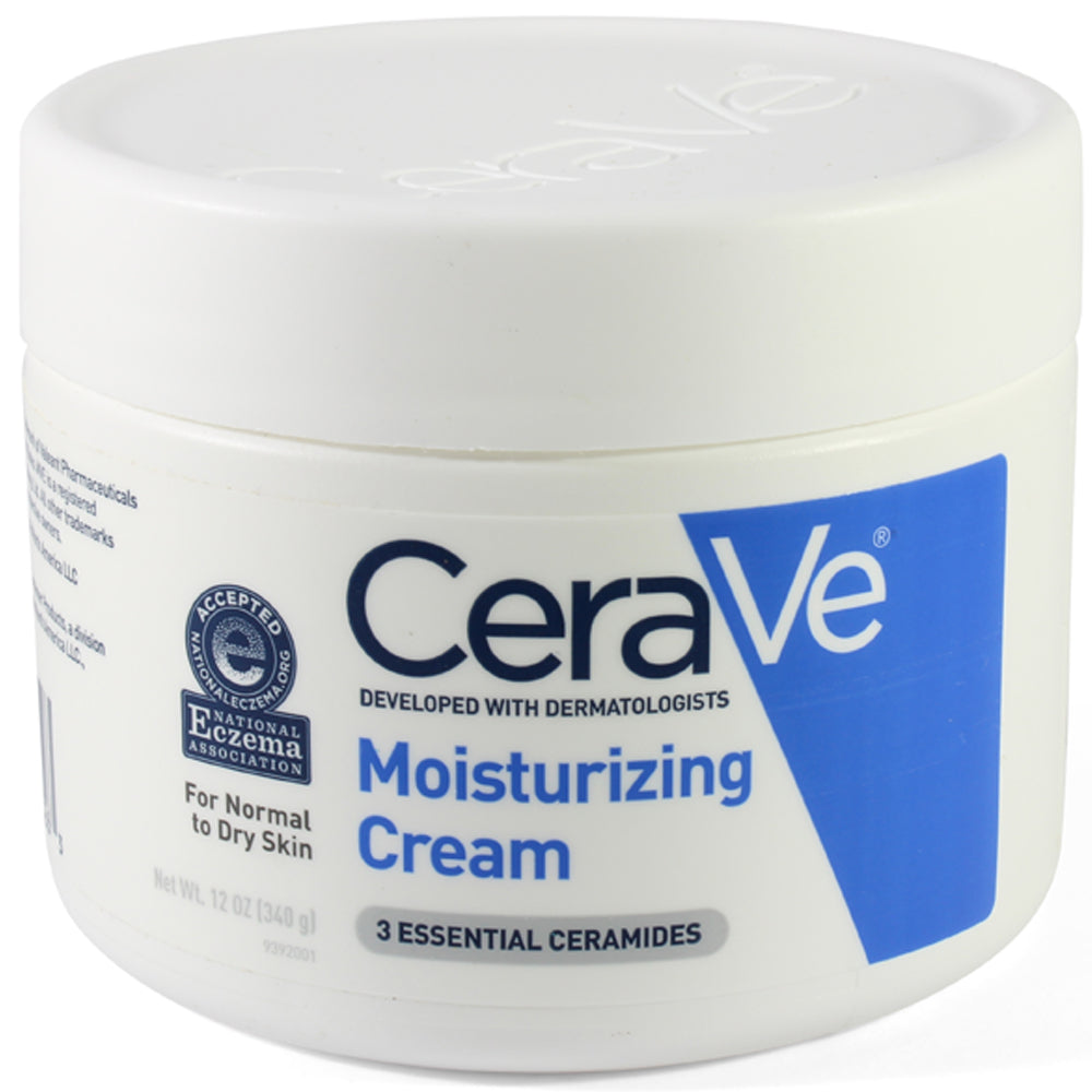 CeraVe 340g Moisturising Cream for Normal to Dry Skin