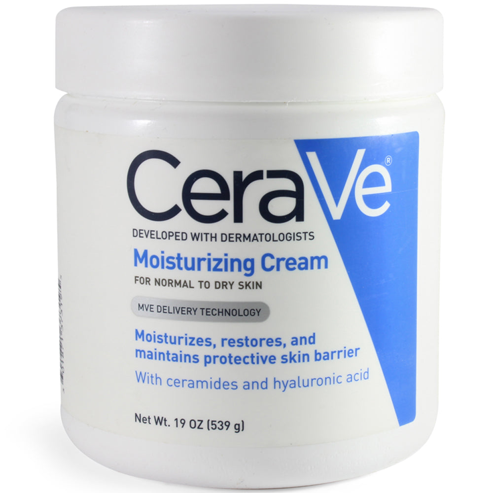 CeraVe 539g Moisturising Cream (Without Pump)