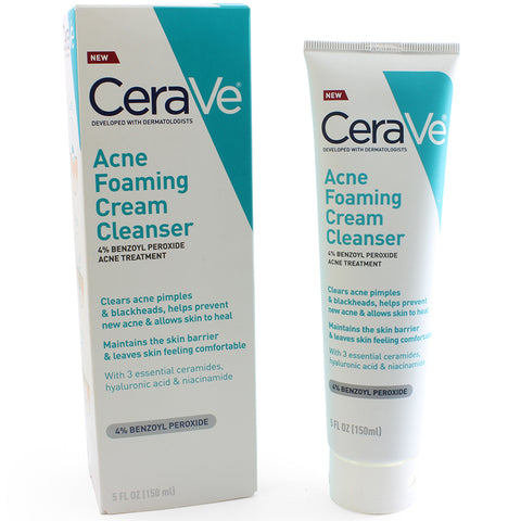 CeraVe 150mL Acne Foaming Cream Cleanser