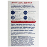 CeraVe 296mL Eczema Body Wash Ultra Gentle Formula