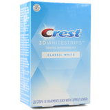 Crest 3D Dental Whitening Kit Classic White Whitestrips 10 Treatments