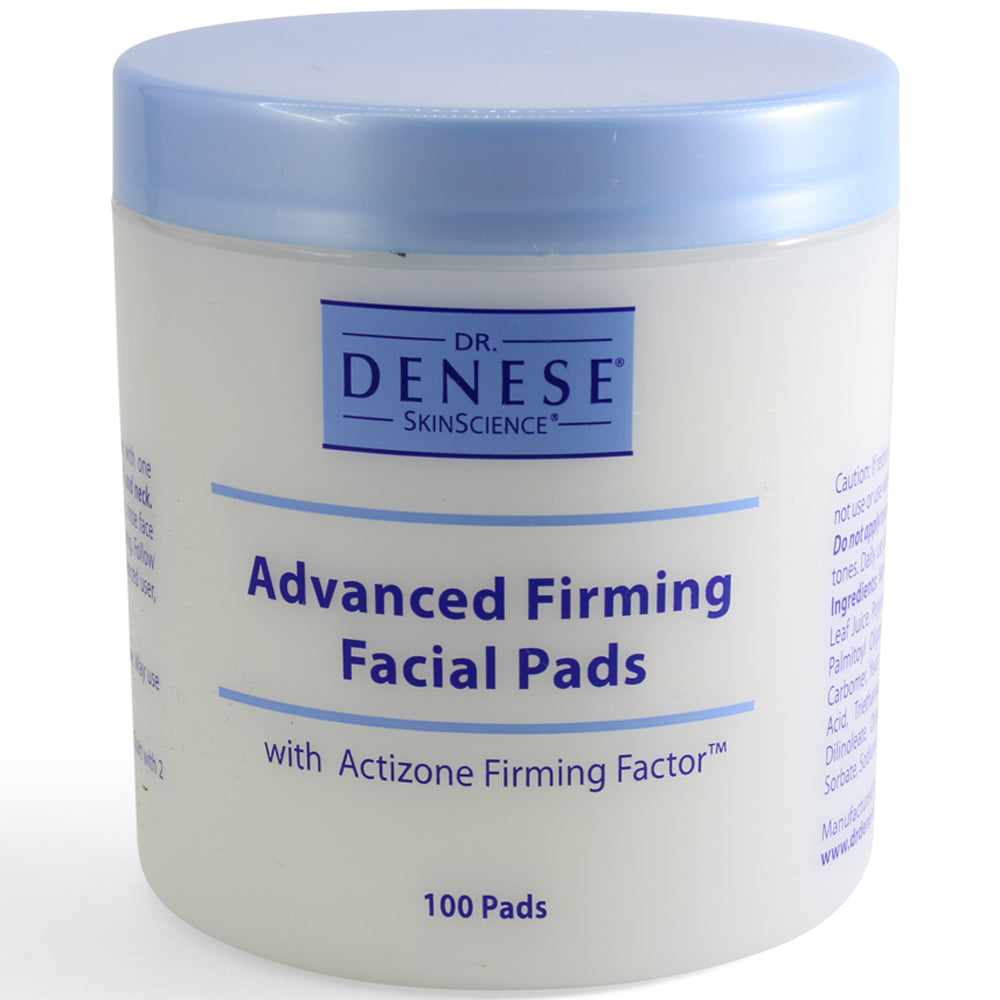 Dr Denese 100 x Advanced Firming Facial Pads with Actizone Firming Factor