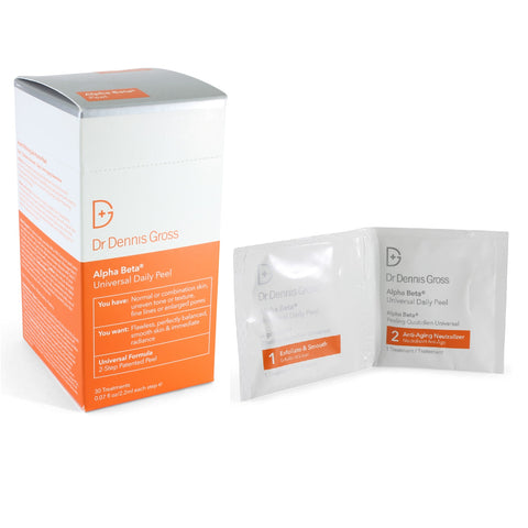 Dr Dennis Gross 30 x Universal Alpha Beta Daily Peel