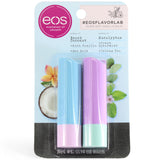 eos Flavor Lab 2-Pack Beach Coconut & Eucalyptus Lip Balm Sticks