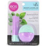 eos Flavor Lab 2-Pack Lip Balm Eycalyptus, Spearmint and Ooling Tea