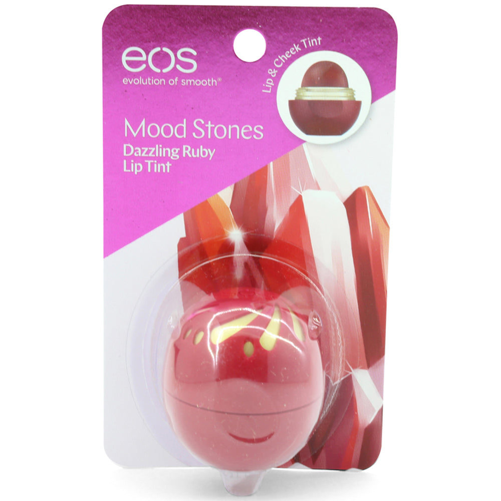 eos Mood Stones 2-Pack Dazzling Ruby Tint Colour Changing Lip Balm Sphere