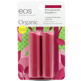 Eos Pomegranate Raspberry Smooth Stick Organic Lip Balm 2 Pack