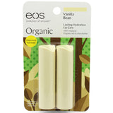 Eos Vanilla Bean Smooth Stick Organic Lip Balm 2 Pack