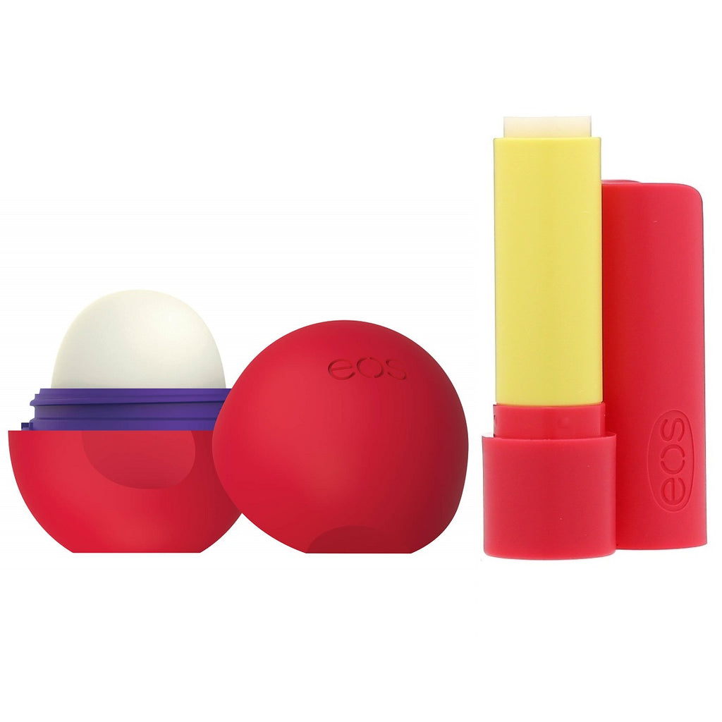 Eos Lip Balm Coconut Milk Lip Balm Stick & Cherry Vanilla Sphere 2-Pack