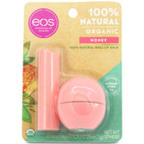 Eos Lip Balm 2-Pack Organic Honey 7g Sphere & 4g Stick Combo