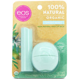 Eos Organic Sweet Mint Combo Pack 7g Lip Balm Sphere & 4g Lip Balm Stick