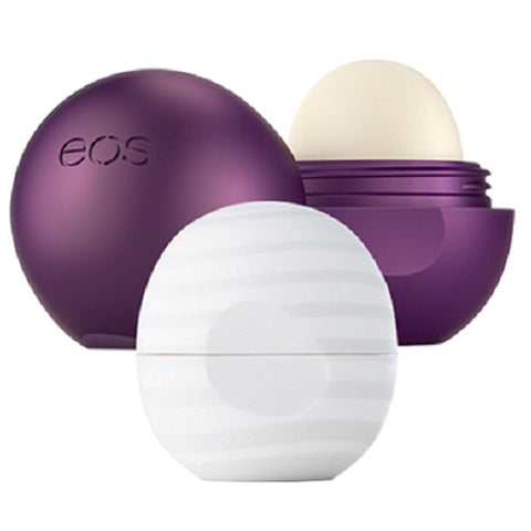eos 2 Pack Holiday Collection Sugarplum & Pure Hydration Lip Balm