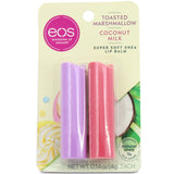 Eos 2 Pack Toasted Marshmallow and Coconut Milk Super Soft Shea Lip Balm Sticks