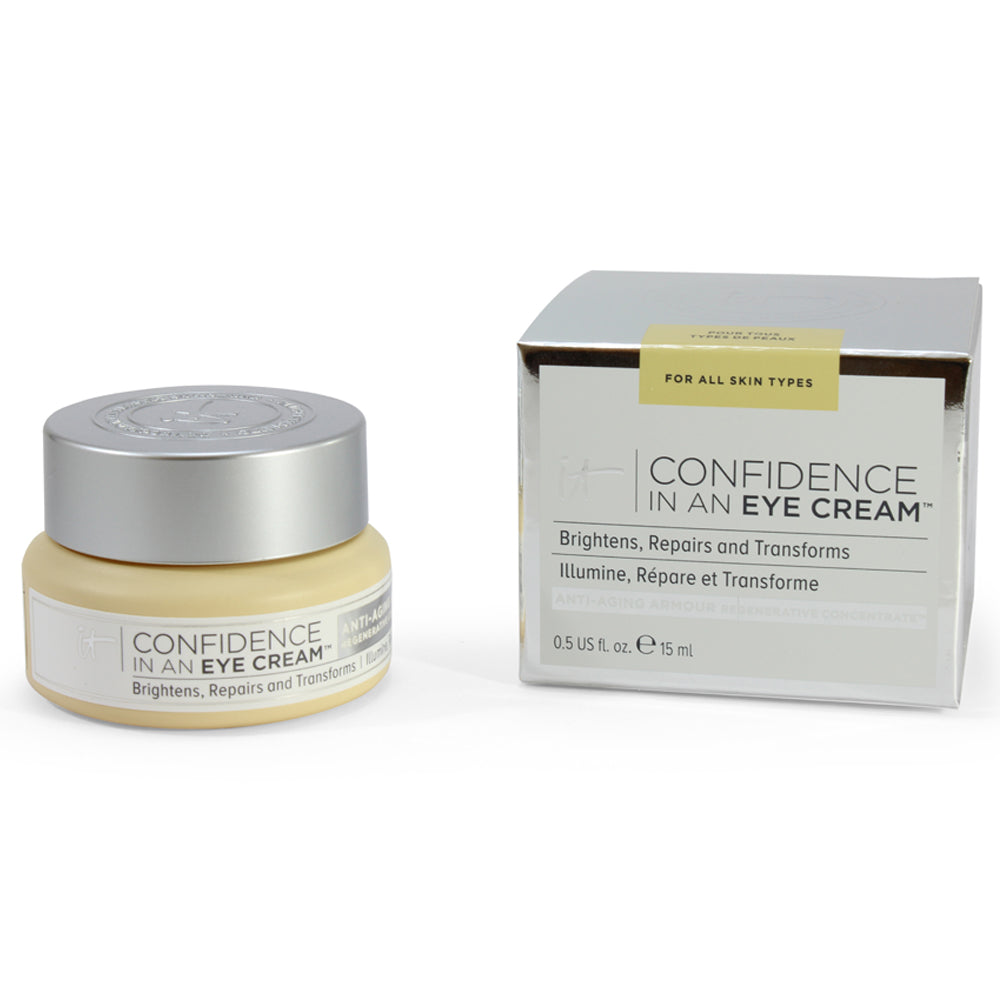 IT Cosmetics 15mL Confidence in an Eye Cream Regenerative Concentrate