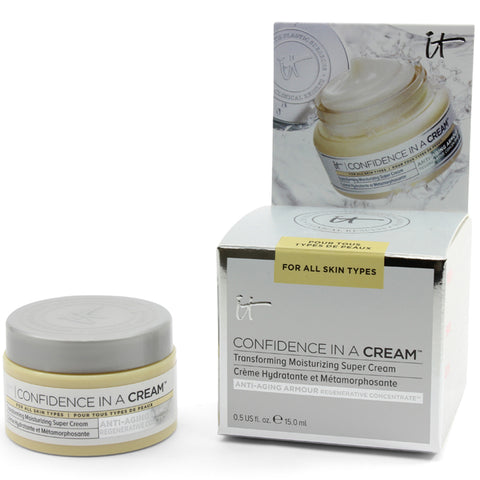 IT Cosmetics 15mL Confidence in a Cream Transforming Moisturising Super Cream