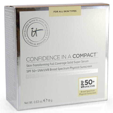 IT Cosmetics 18g Confidence in a Compact Foundation Medium