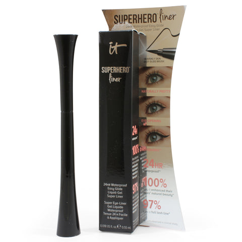 IT Cosmetics Superhero Liner Large Size .55ml Super Black Waterproof Eyeliner