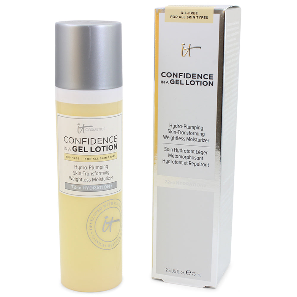 IT Cosmetics 75mL Confidence in a Gel Lotion Oil Free Weightless Moisturiser