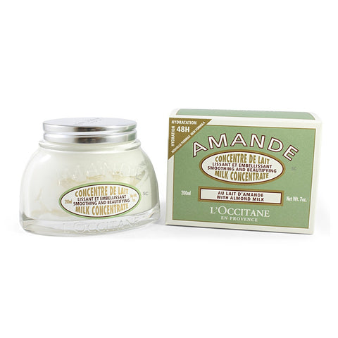 L'Occitane 200mL Almond Milk Concentrate Body Cream