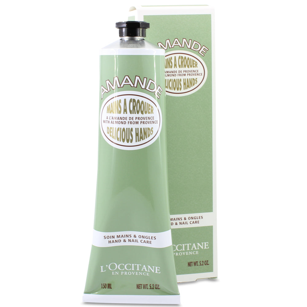 L'Occitane 150mL Almond Delicious Hands Hand & Nail Care Cream