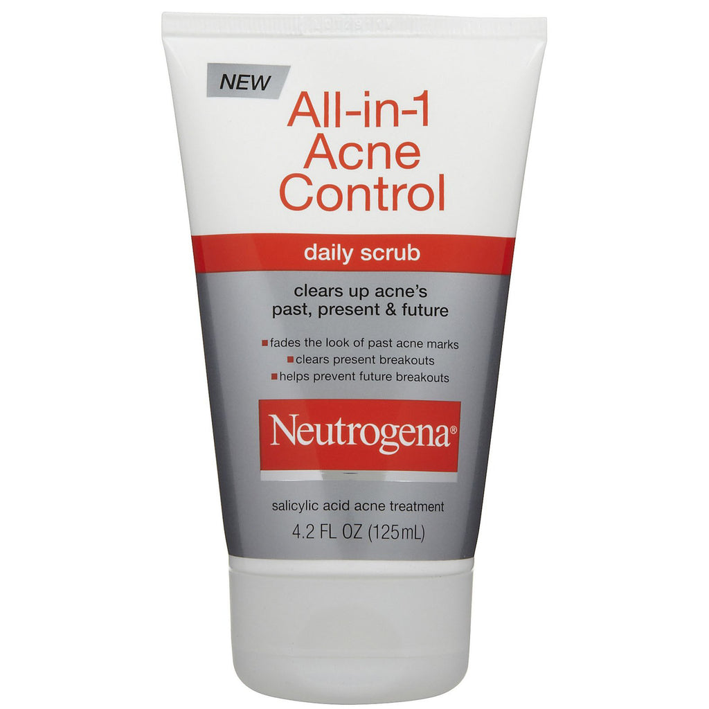 Neutrogena 125mL All-in-1 Acne Control Daily Scrub