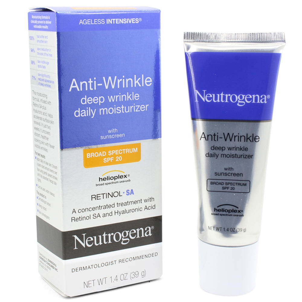 Neutrogena 39mL Ageless Intensives Anti-Wrinkle Deep Wrinkle Daily Moisturiser