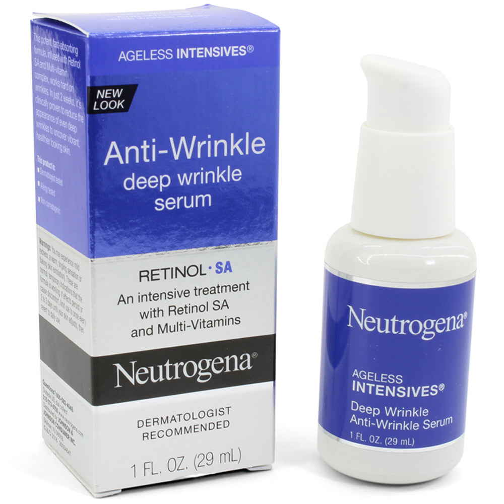Neutrogena 29mL Ageless Intensives Anti-Wrinkle Deep Wrinkle Serum