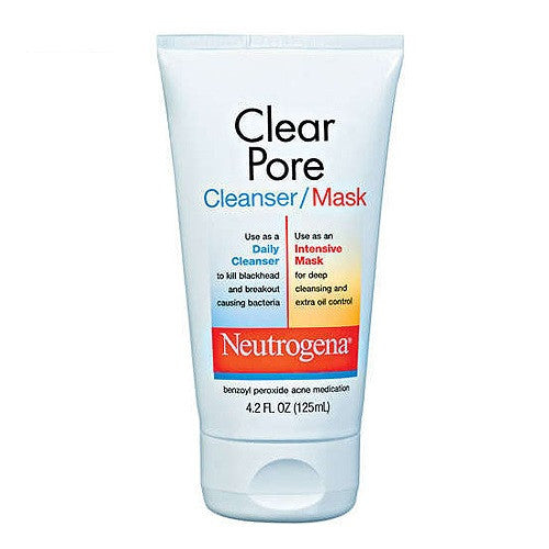 Neutrogena 125mL Clear Pore Cleanser Mask