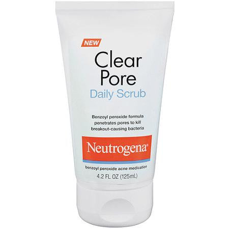 Neutrogena 125mL Clear Pore Daily Scrub
