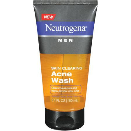 Neutrogena Men 150mL Skin Clearing Acne Wash