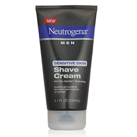 Neutrogena Men 150mL Sensitive Skin Shave Cream
