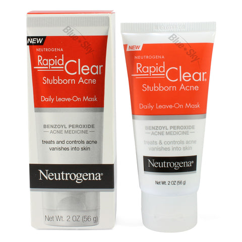 Neutrogena 56g Rapid Clear Stubborn Acne Daily Leave on Mask